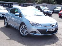used vauxhall astra gtc manual for sale motors co uk