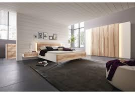 Schlafzimmer Mit Metallbett Schlafzimmer Mit Bett 180 X 200 Cm Wildkernbuche Massiv Weiss