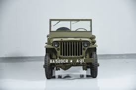 willys jeep 1941 jeep willys mb military motorcar classics exotic and