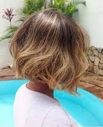 honey brown haie carmel highlights short hair 20 balayage short hair looks