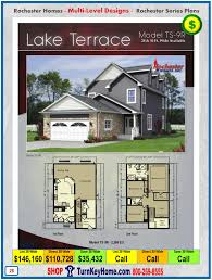 lake terrace rochester modular home model ts 9r two story plan price
