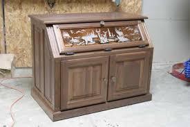 woodloft com etched glass pistol display case