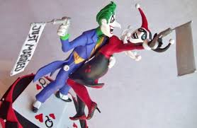 harley cake topper the joker and harley quinn wedding cake topper kharygoarts on