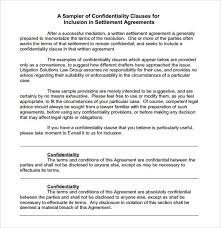 7 free confidentiality agreement templates excel pdf formats