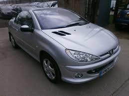 2 door peugeot cars 2004 peugeot 206 cc 1 6 s 2door convertible clean car drives