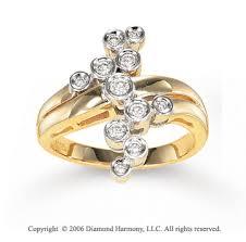 gold hand rings images Yellow gold retro mod 1 4 carat diamond right hand ring jpg