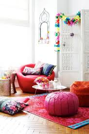 Home Decor Chairs Decorations Bright Bohemian Room Design With Gold Accent Chairs