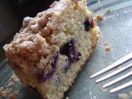 blueberry crumb cake smells like home