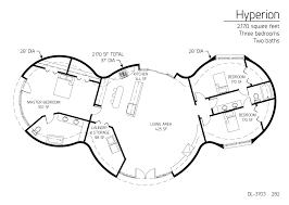 floor plan dl 3703 monolithic dome institute