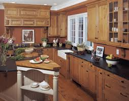 Maple Cabinets With Mocha Glaze Village Cabinets Products Kitchencraft Cabinetry