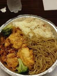 kosher noodles sesame chicken w noodles and fried rice plus