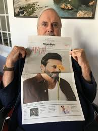 i am john cleese writer actor and tall person ama iama