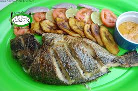 recette de cuisine africaine dorade au four marinade aux épices africaines tchop afrik a