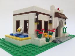 spanish style house lego ideas spanish style house