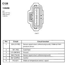 where is the maf iat sensor on an f250 triton v10 2002