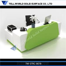 Used Salon Reception Desk Used Reception Desk Salon Reception Desk Tell World Solid