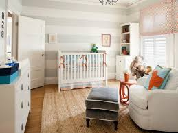 Baby Boy Bedroom Ideas by Baby Boy Nursery With White Furniture And Stripes Wall Cool Baby