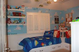 buzz lightyear bedroom mom recreates andy s room from toy story to give twin boys the
