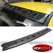 evo spoiler for 03 07 mitsubishi lancer evo 7 8 9 carbon fiber roof vortex