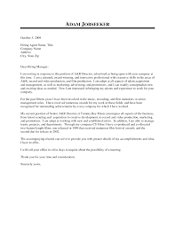 account manager cover letter no experience cover letter templates