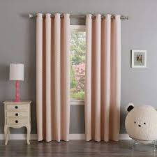 Baby Pink Curtains Pink Curtains Drapes Window Treatments The Home Depot