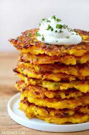 5 ingredient butternut squash fritters just a taste