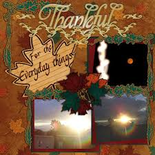 8 clever ideas for thanksgiving scrapbook pages autumn