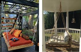 porch swing bed ideas