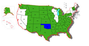 pa carry permit reciprocity map states that recognize oklahoma s handgun carry permit