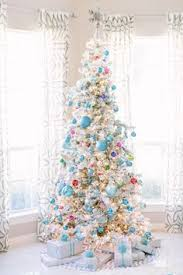 shiny brite ornaments on a white tree holiday pinterest
