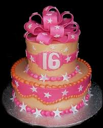 sweet 16 birthday cake designs decorating of party