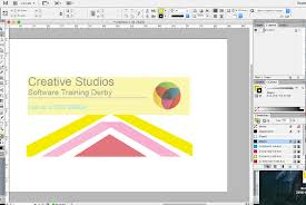 how to create a professional business card in indesign creative