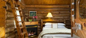 Log Bed Pictures by Romantic B U0026b Cabins In Wisconsin Organic Farm Getaway