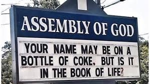 church signs of the week july 10 2015 the exchange a by