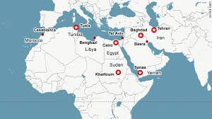 middle east map and capitals usa middle east religious war predicted in 1995 religion