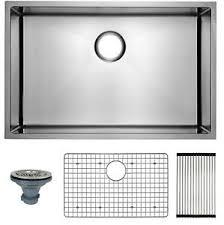 bowl kitchen sink for 30 inch cabinet details about 30 stainless sink single bowl undermount kitchen sinks 18 30x18x10 inch