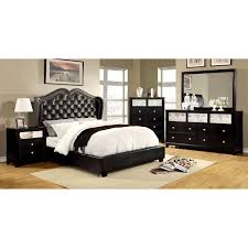 Bedroom Set With Mattress And Box Spring Furniture Of America Dahsiel Platform Bed Set With Bluetooth