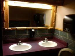 Mirror In The Bathroom by Beautiful Bathroom Mirrors In Restaurants 41 With Bathroom Mirrors