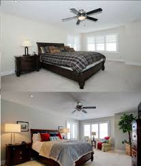 master bedroom before and after home staging home staging gta
