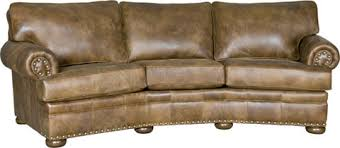 Leather Conversation Sofa Conversation Sofa 7500l11 Mayo Furniture Array From