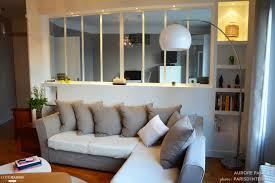 separation chambre salon beau of verriere chambre chambre avec cloison salon chambre idees et