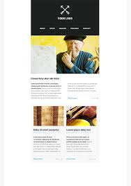 free newsletter templates html email templates getresponse