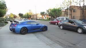 nissan gtr custom matte blue nissan gt r youtube