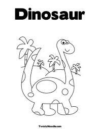 dinosaur coloring pages preschool funycoloring