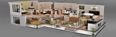 floor plan designer commercial 3d wall cut floor plan yantram architectural design