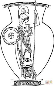 old roman vase coloring page free printable coloring pages