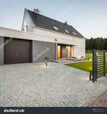 garage driveway design contemporary house entrance and garage garage driveway design driveway stock photos images amp pictures shutterstock