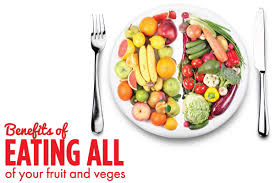 benefits of eating all of your fruit and vegetables organic and