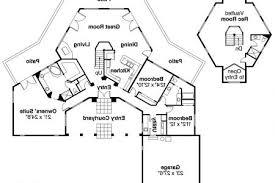hexagonal retreat house plans home plans home floor plans at