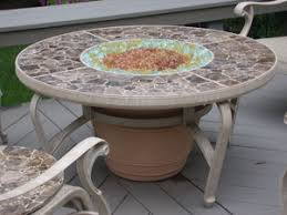 Diy Firepit Table Burner Accessories For Pit Tables With Fireglass With